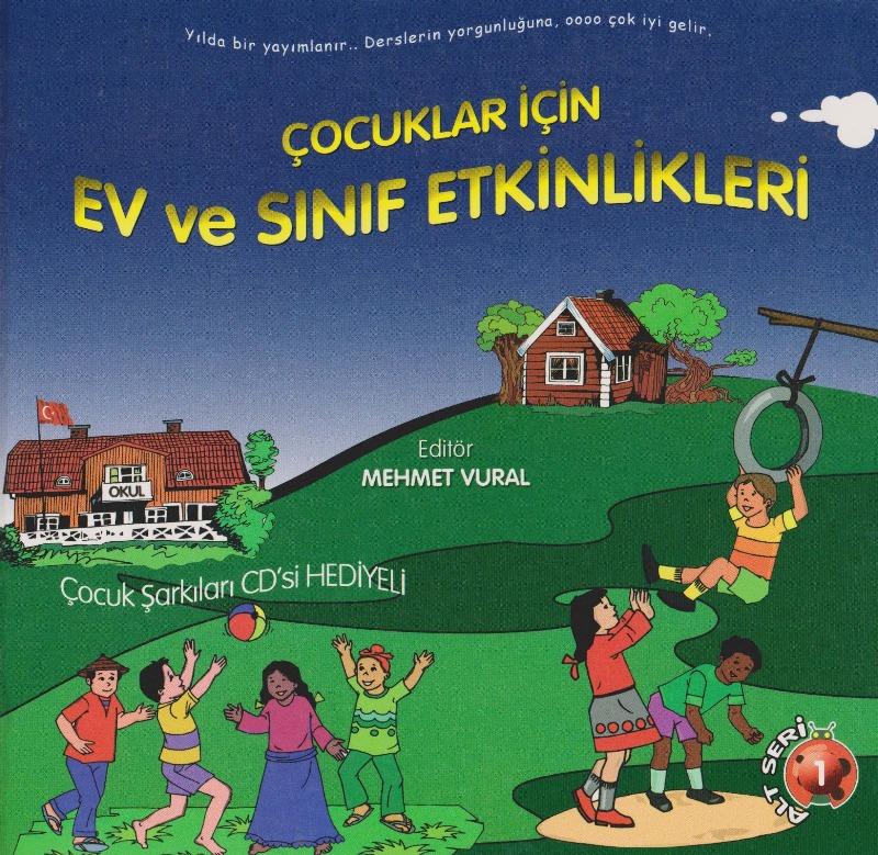 Yakutiye Yayınları Çocuklar için Ev ve Sınıf Etkinlikleri (CD'li)