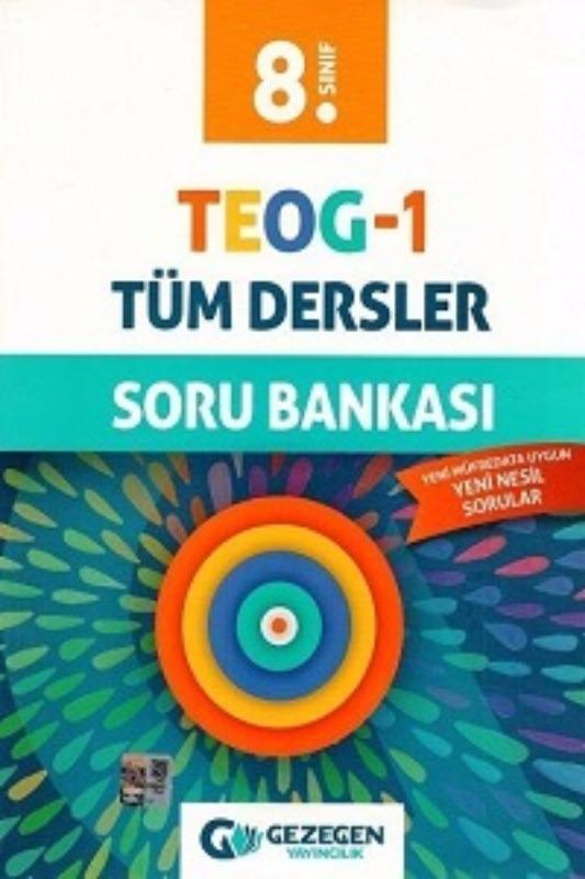 Gezegen Yayınları 8. Sınıf TEOG 1 Tüm Dersler Soru Bankası