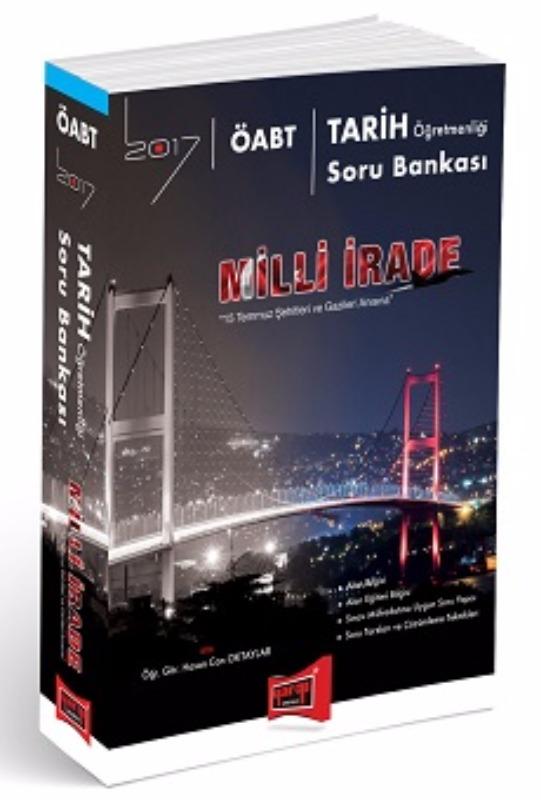 ÖABT MİLLİ İRADE Tarih  Soru Bankası Yargı Yayınları 2017