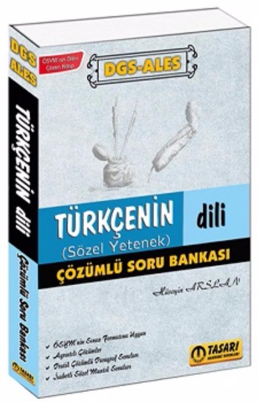 DGS ALES Türkçenin Dili Çözümlü Soru Bankası Tasarı Yayınları 2017