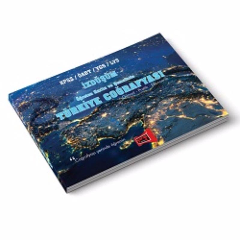 KPSS ÖABT YGS LYS İZDÜŞÜM Öğreten Harita ve Şemalarla Türkiye Coğrafyası  Yargı Yayınları 2017