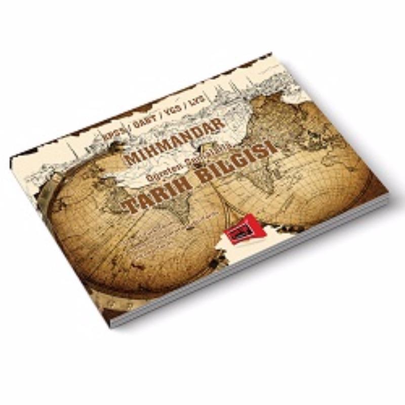 KPSS ÖABT YGS LYS MİHMANDAR Öğreten Şemalarla Tarih Bilgisi Yargı Yayınları 2017