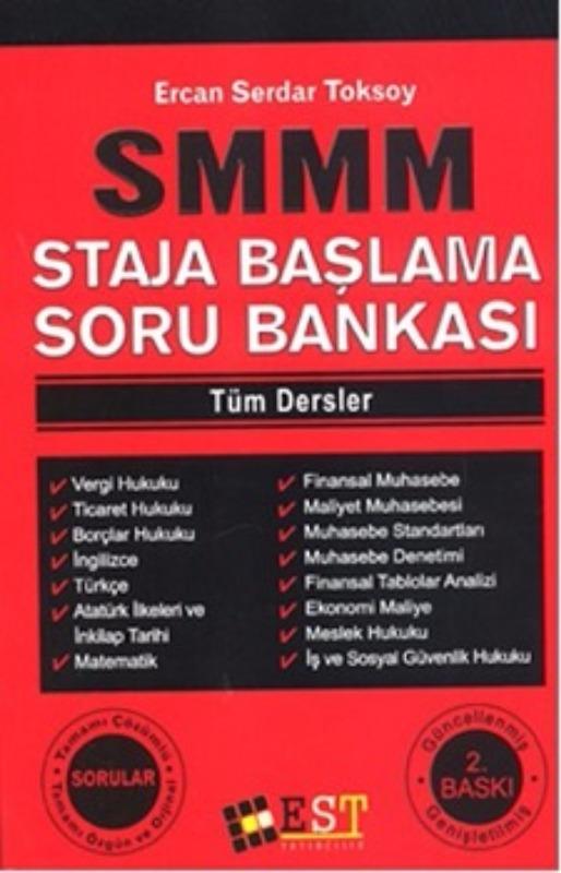 EST Yayıncılık SMMM Staja Başlama Soru Bankası