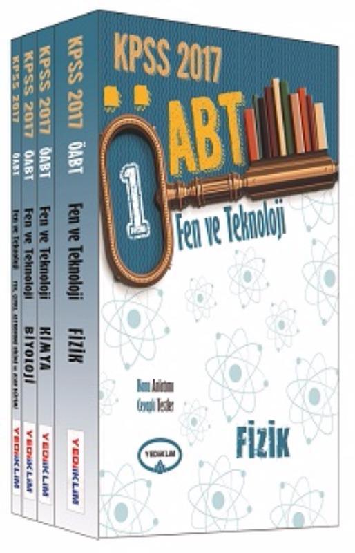 Yediiklim Yayınları 2017 ÖABT Fen ve Teknoloji  Konu Anlatımlı Modüler Set
