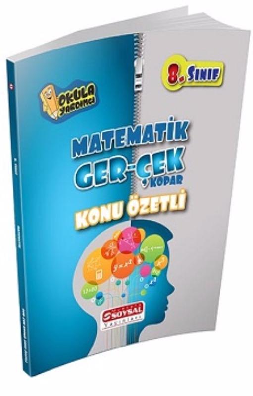 Mustafa Soysal Yayınları 8. Sınıf Matematik GER-ÇEK Konu Özetli