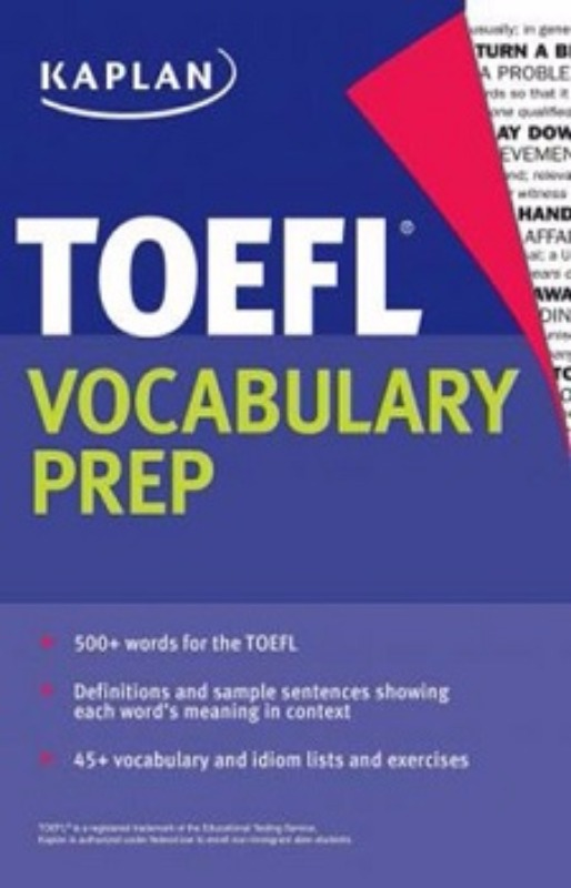 Kaplan Publishing TOEFL Vocabulary Prep