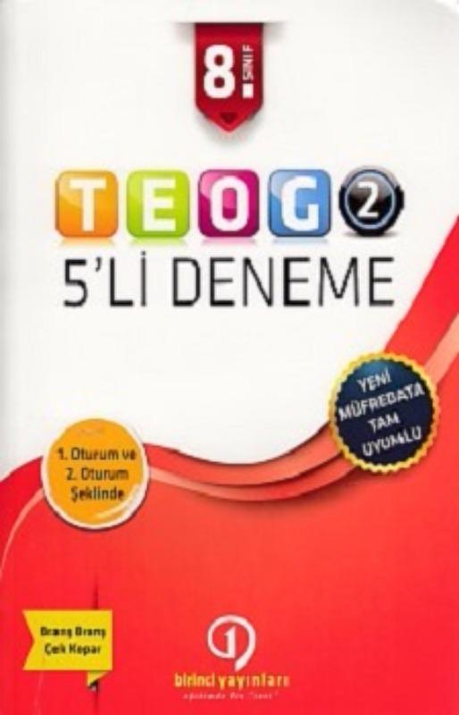 Birinci Yayınları 8. Sınıf TEOG 2 5li Deneme