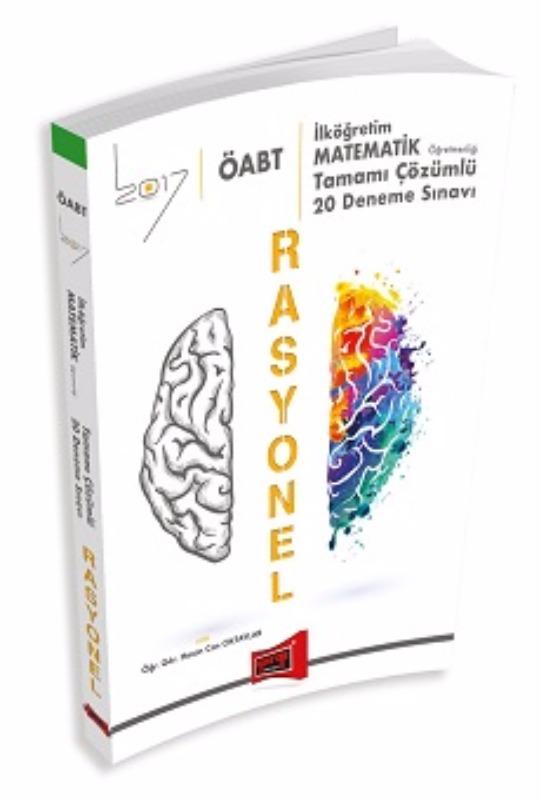 ÖABT RASYONEL İlköğretim Matematik  Tamamı Çözümlü 20 Deneme Sınavı Yargı Yayınları 2017