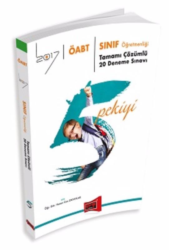 ÖABT 5 PEKİYİ Sınıf Öğretmenliği Tamamı Çözümlü 20 Deneme Sınavı Yargı Yayınları 2017
