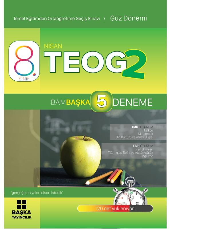 Başka Yayınları 8.Sınıf Teog 2 Bambaşka Tüm Dersler 5 Deneme