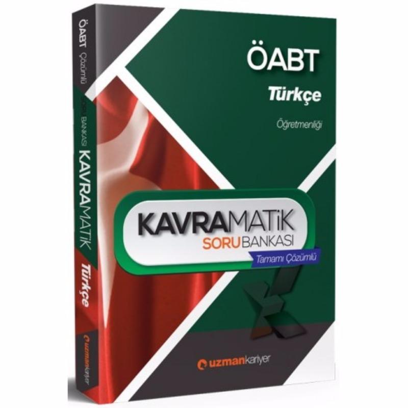 ÖABT Türkçe Kavramatik Tamamı Çözümlü Soru Bankası  Uzman Kariyer Yayınları