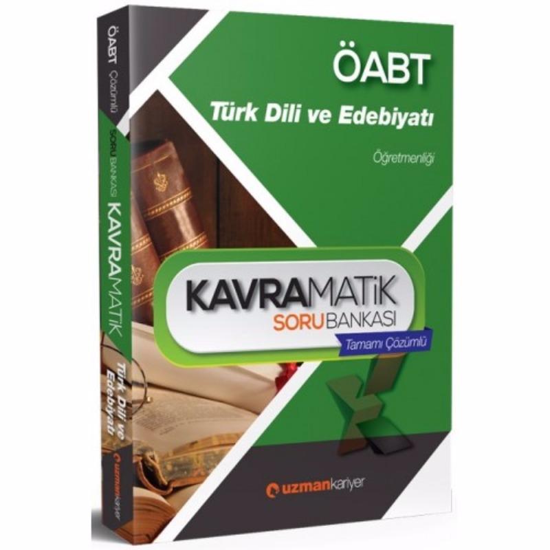 ÖABT Türk Dili ve Edebiyatı Kavramatik Tamamı Çözümlü Soru Bankası Uzman Kariyer Yayınları