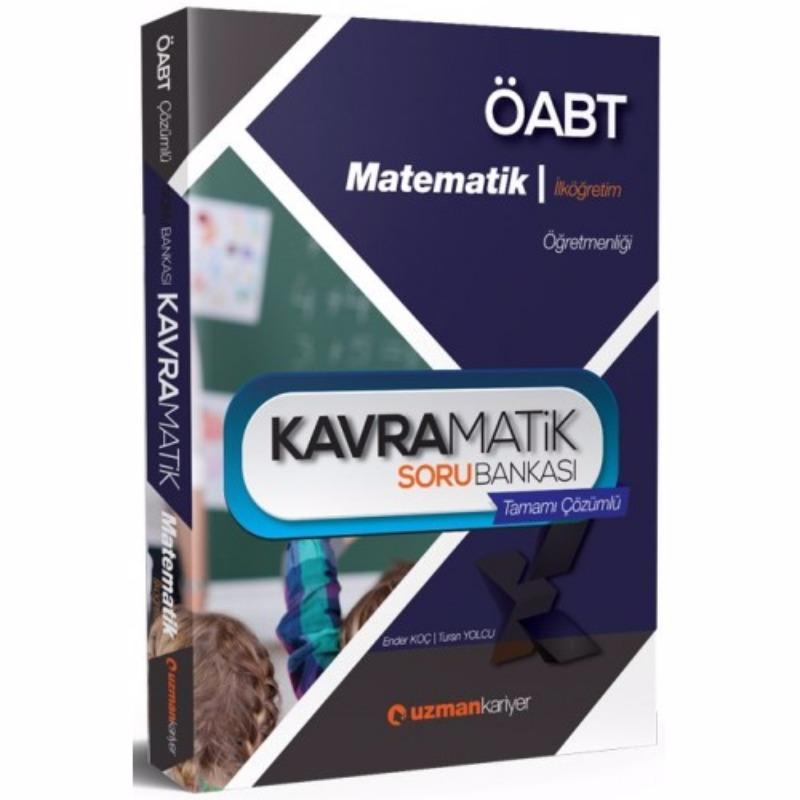 ÖABT İlköğretim Matematik Kavramatik Tamamı Çözümlü Soru Bankası Uzman Kariyer Yayınları