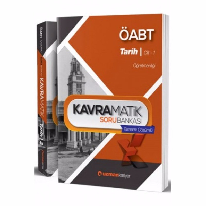 ÖABT Tarih Kavramatik Tamamı Çözümlü Soru Bankası Uzman Kariyer Yayınları