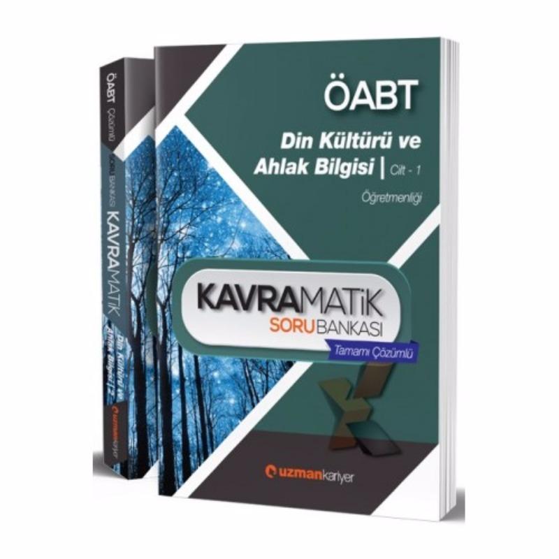 ÖABT Din Kültürü ve Ahlâk Bilgisi Kavramatik Tamamı Çözümlü Modüler Soru Seti Uzman Kariyer Yayınları