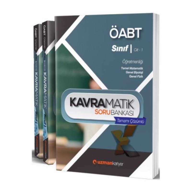 ÖABT Sınıf Öğretmenliği Kavramatik Tamamı Çözümlü Modüler Soru Seti Uzman Kariyer Yayınları