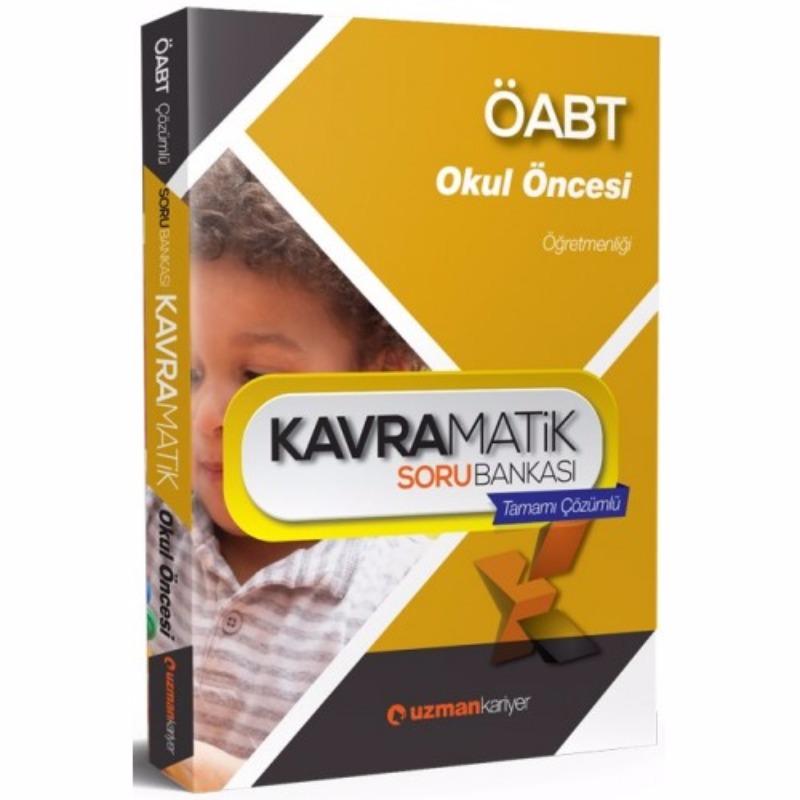 ÖABT Okul Öncesi  Kavramatik Tamamı Çözümlü Soru Bankası Uzman Kariyer Yayınları