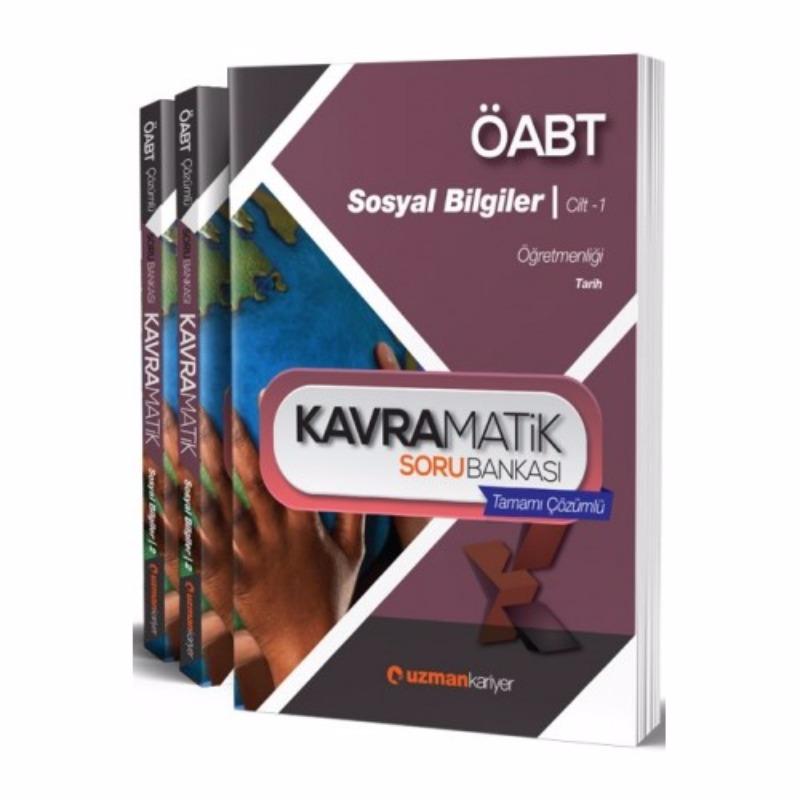 ÖABT Sosyal Bilgiler Kavramatik Tamamı Çözümlü Modüler Soru Seti Uzman Kariyer Yayınları