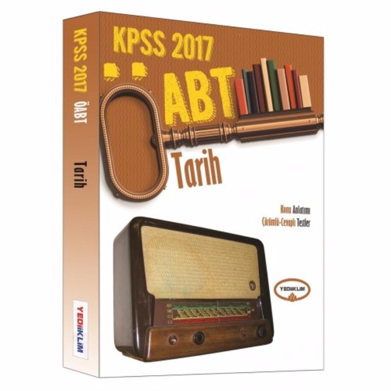 ÖABT Tarih Konu Anlatımı Çözümlü Cevaplı Testler  2017 Yediiklim Yayınları