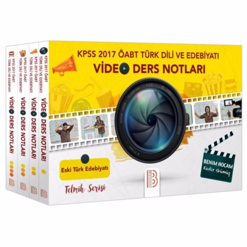 Benim Hocam Yayınları 2017 ÖABT Türk Dili ve Edebiyatı Video Ders Notları