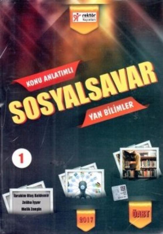 2017 ÖABT SosyalSavar Sosyal Bilgiler Yan Bilimler ve Alan Eğitimi Konu Anlatım Seti  Rektör Yayınları
