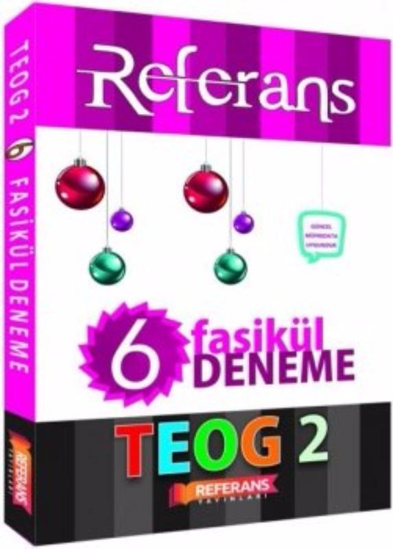 Referans Yayınları 8. Sınıf TEOG 2 Deneme 6 Fasikül