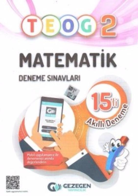 Gezegen Yayıncılık 8. Sınıf TEOG 2 Matematik 15 li Deneme