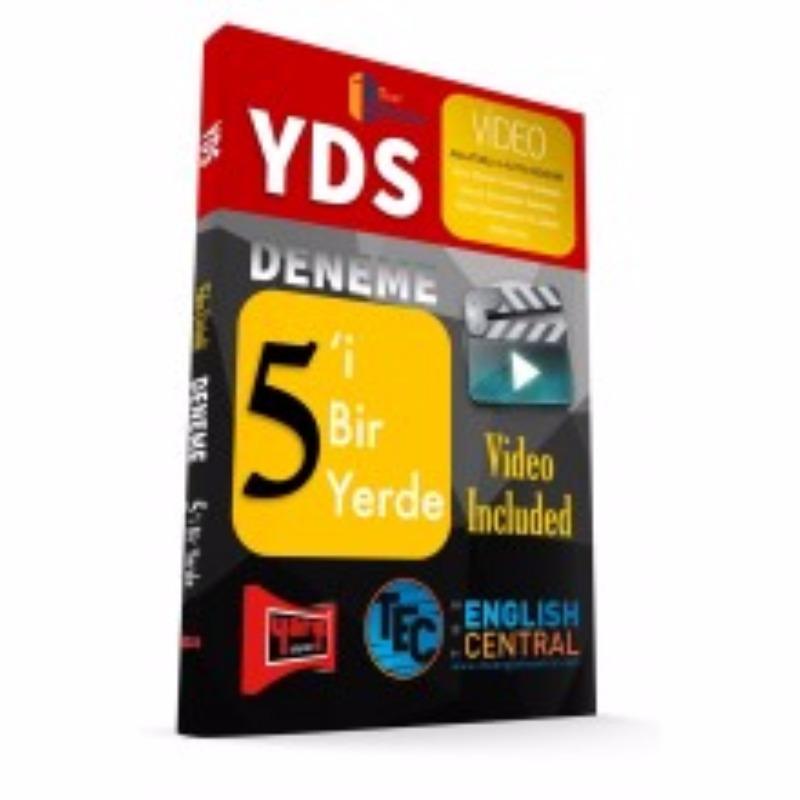 YDS 5'i Bir Yerde Deneme Video Included Yargı Yayınları