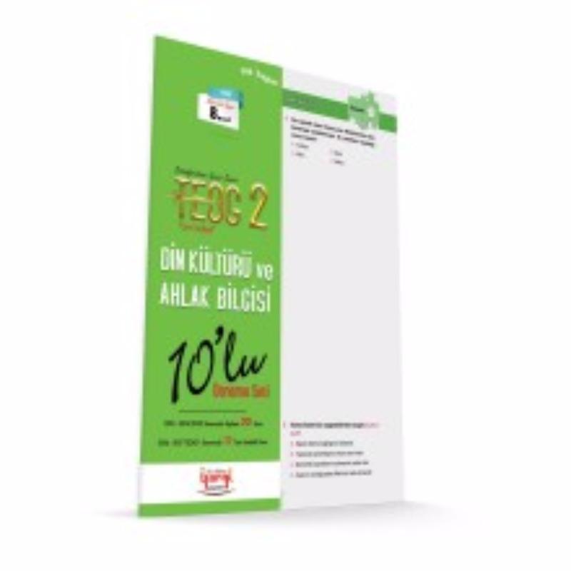 TEOG 2 TAM İSABET Din Kültürü ve Ahlak Bilgisi 10'lu Deneme Seti Yargı Yayınları