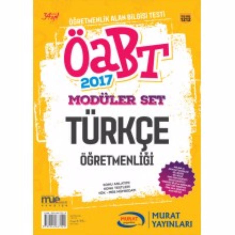 Murat Yayınları 2017 ÖABT Türkçe  Konu Anlatımlı Modüler Set