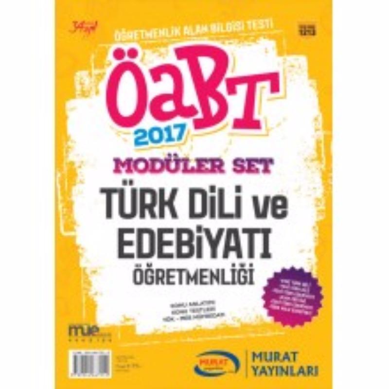 2017 ÖABT Türk Dili ve Edebiyatı Konu Anlatımlı Modüler Set  Murat Yayınları