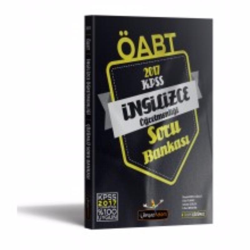 Beyaz Kalem Yayınları 2017 ÖABT İngilizce  Tamamı Çözümlü Soru Bankası
