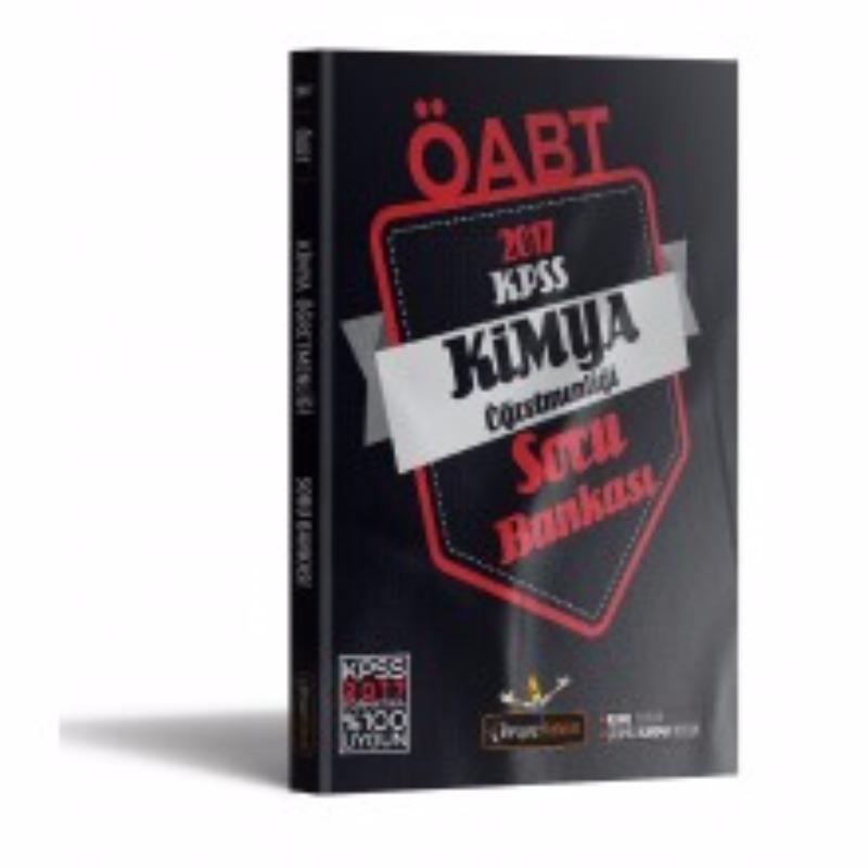 Beyaz Kalem Yayınları 2017 ÖABT Kimya Tamamı Çözümlü Soru Bankası
