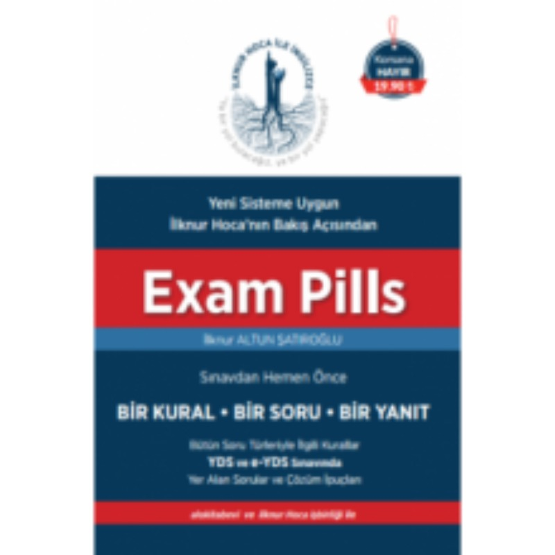 Exam Pills YDS 1 Kural 1 Soru 1 Yanıt
