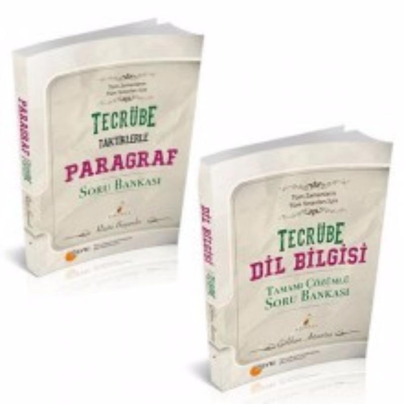 Tecrübe Dilbilgisi ve Taktiklerle Tüm Sınavları için Paragraf Soru Bankası Seti Pelikan Yayıncılık