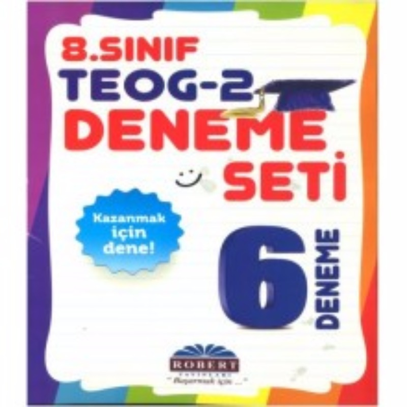 Robert Yayınları 8. Sınıf TEOG 2. Dönem 6 Deneme