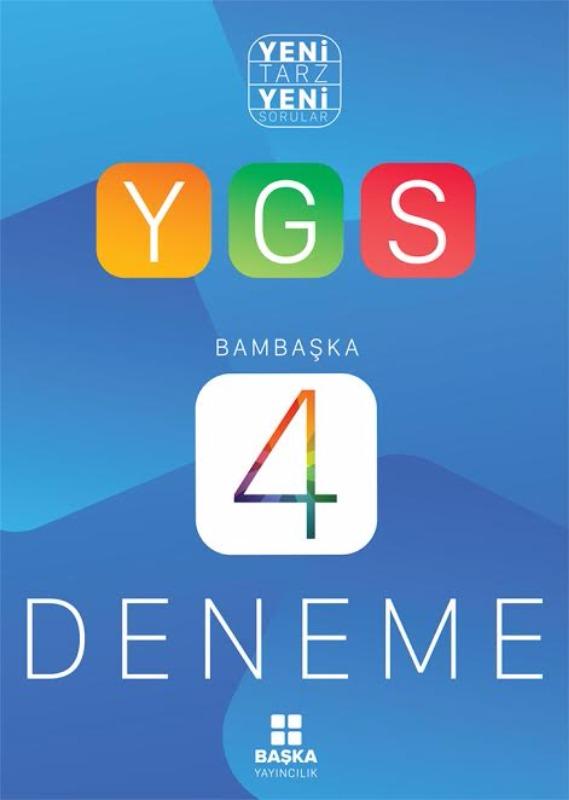 Yeni Tarz Yeni Sorular Bambaşka YGS 4 Deneme