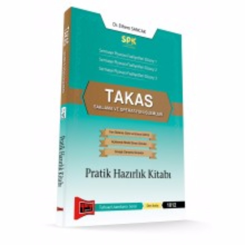 SPK Takas Saklama ve Operasyon İşlemleri Pratik Hazırlık Kitabı Yargı Yayınları