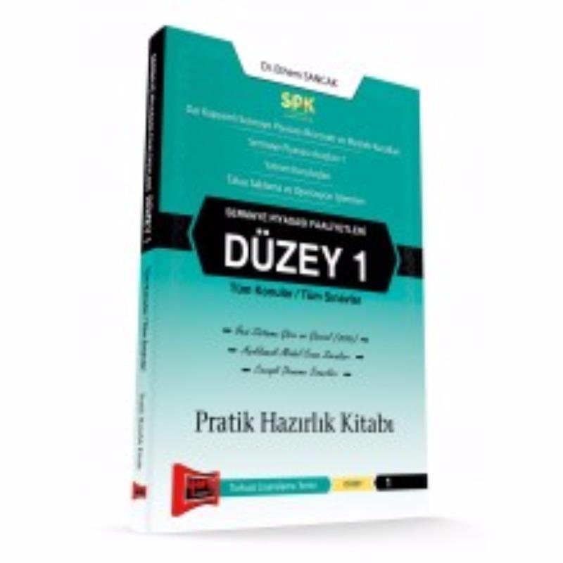 SPK Sermaye Piyasası Faaliyetleri Düzey 1 Pratik Hazırlık Kitabı Yargı Yayınları