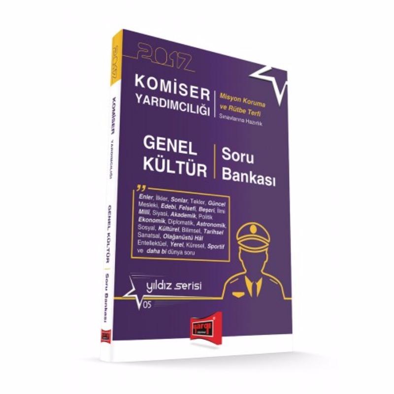 Komiser Yardımcılığı Genel Kültür Soru Bankası Yıldız Serisi 5 Yargı Yayınları 2017