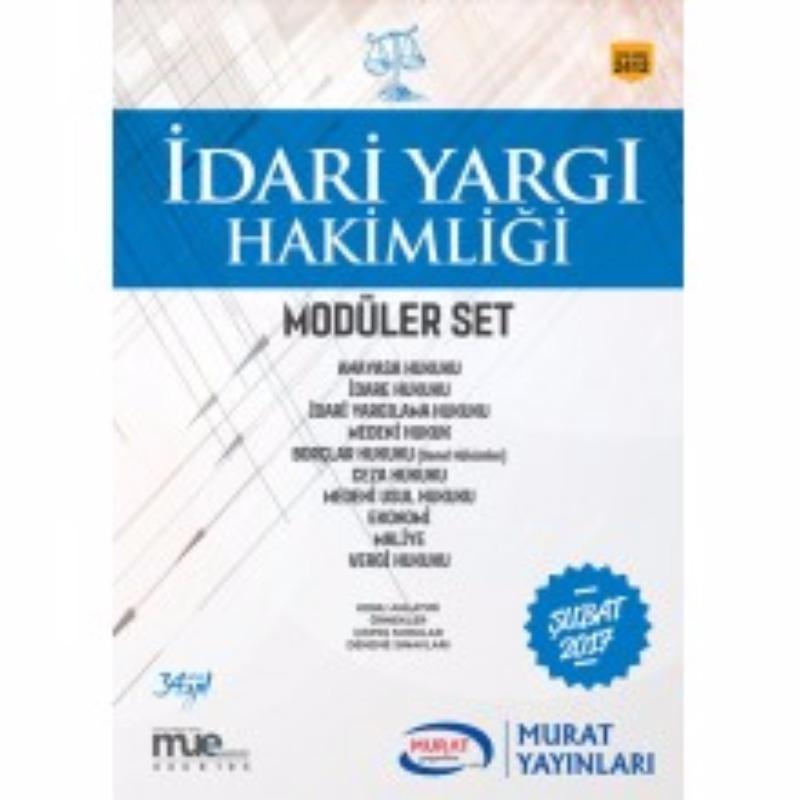 Murat Yayınları İdari Yargı Hakimliği Konu Anlatımlı Modüler Set