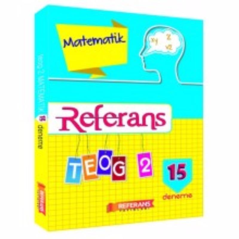 Referans Yayınları TEOG 2 Matematik 15 Deneme