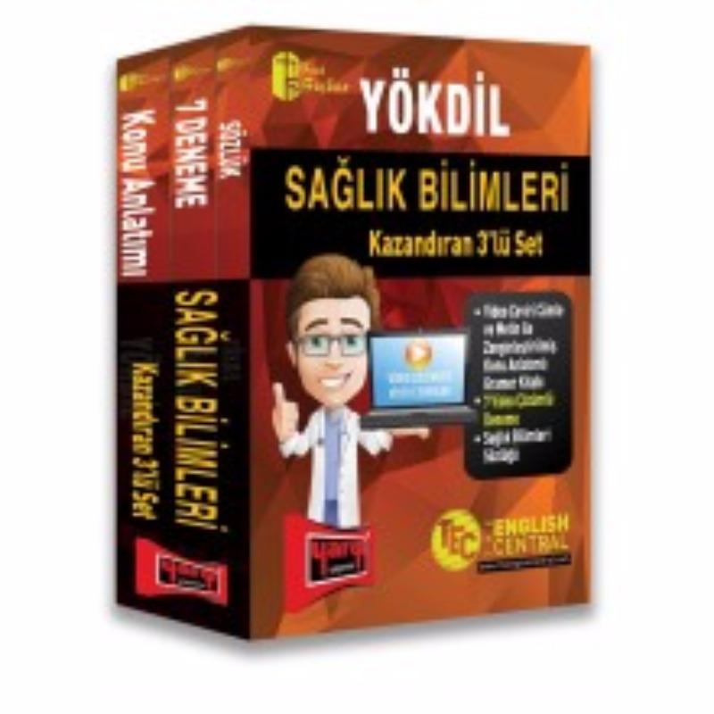 Yargı Yayınları YÖKDİL Sağlık Bilimleri Kazandıran 3 lü Set