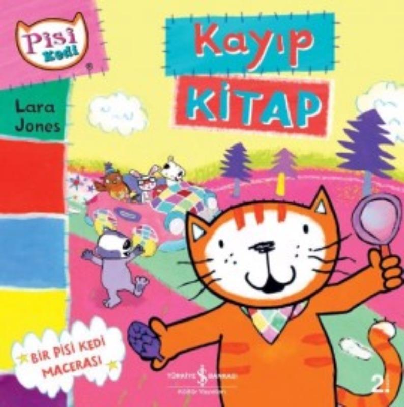 Pisi Kedi Kayıp Kitap İş Bankası Kültür Yayınları