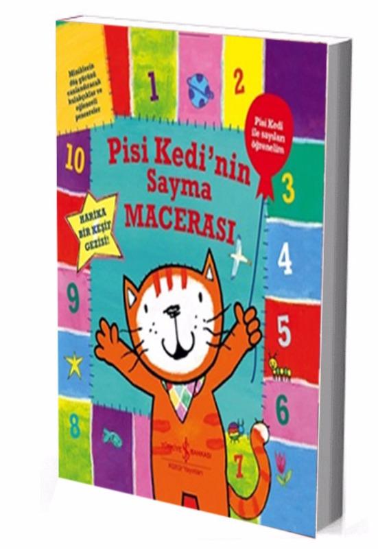 Pisi Kedi nin Sayma Macerası İş Bankası Kültür Yayınları