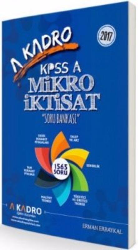 A Kadro 2017 KPSS A Grubu Mikro İktisat Soru Bankası