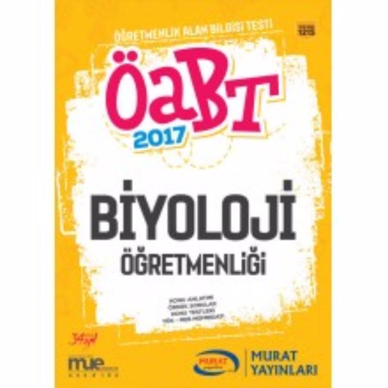 Murat Yayınları 2017 ÖABT Biyoloji Konu Anlatımlı