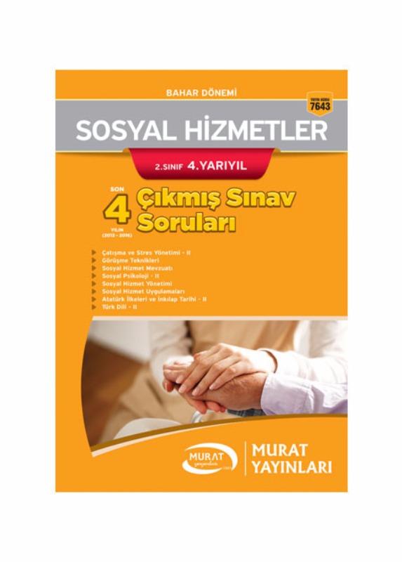 Murat Açıköğretim Yayınları Sosyal Hizmetler 2.Sınıf 4.Yarıyıl Çıkmış