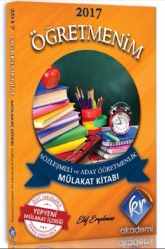 KR Akademi 2017 Öğretmenim Sözleşmeli Ve Aday Öğretmelik Mülakat Kitabı