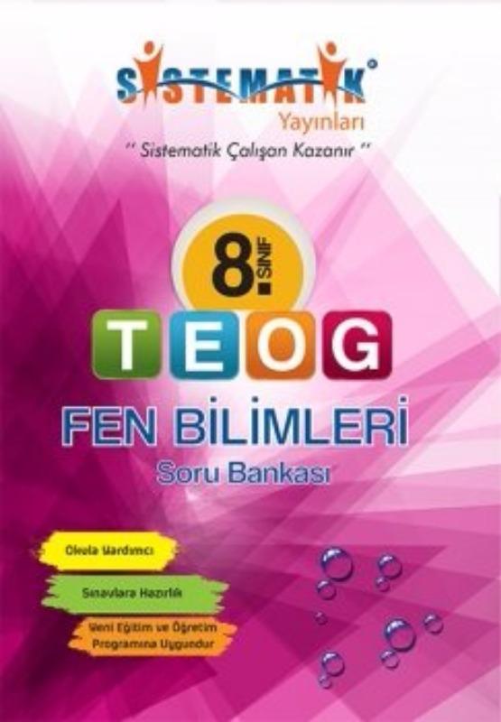 Sistematik Yayınları 8. Sınıf TEOG Fen Bilimleri Soru Bankası